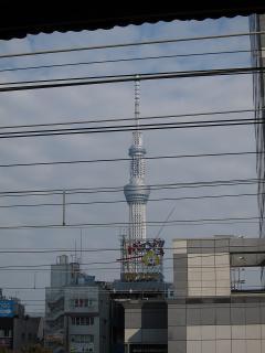 錦糸町から東京スカイツリー