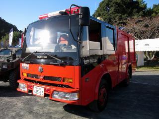 新城市消防本部 本署 モリタ ポンプ車