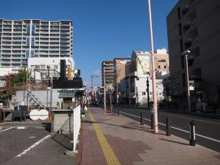 豊田市桜町1丁目辺りの駐車場