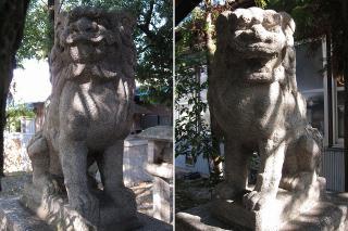 石神社の狛犬