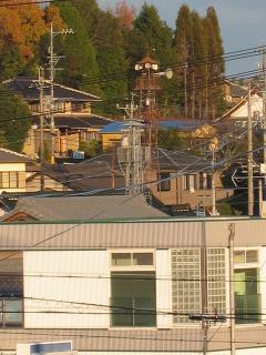 豊田市東保見町江古山の火の見櫓