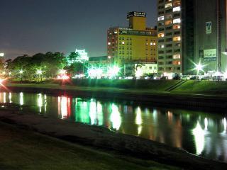 乙川 殿橋から見る