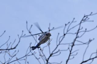 平成25年 岡崎市消防出初式 ヘリコプター