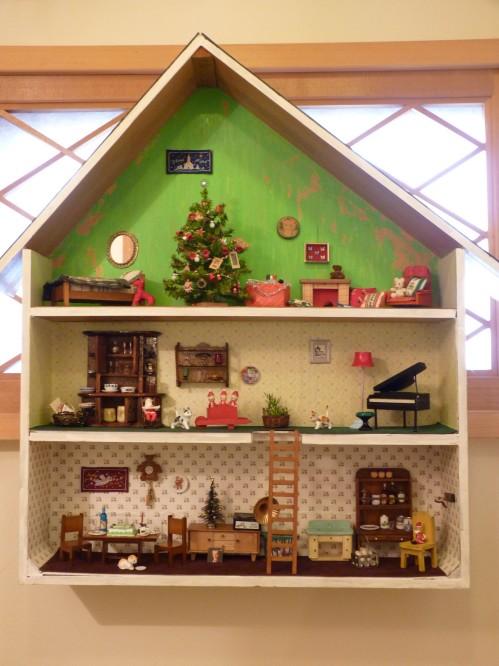 12クリスマスドールハウスその1