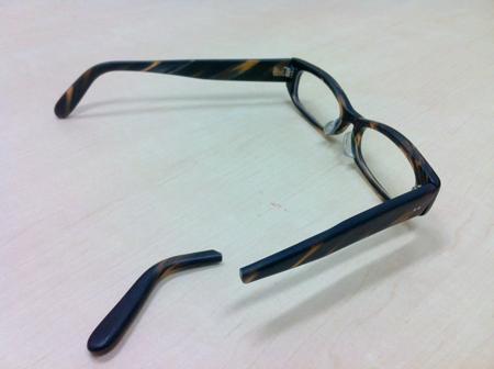 泰八郎謹製 修理 新潟県 稲田眼鏡店