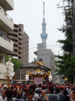 三社祭と東京スカイツリー④