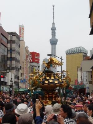 三社祭と東京スカイツリー③