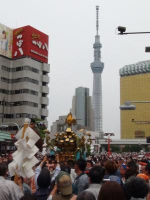三社祭と東京スカイツリー②