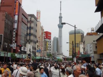三社祭と東京スカイツリー①