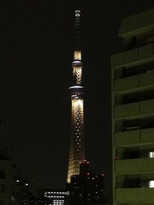 東京スカイツリー(ライトアップ)