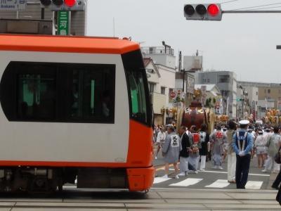 天王祭③(都電とのコラボ)