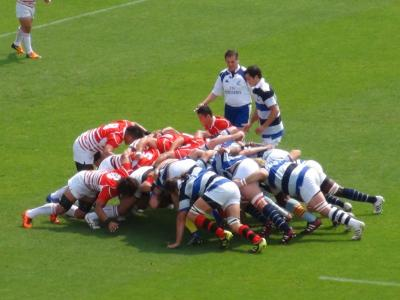 JAPAN XV vs French Barbarians①