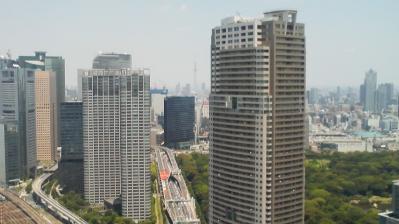 東京スカイツリー 汐留方面