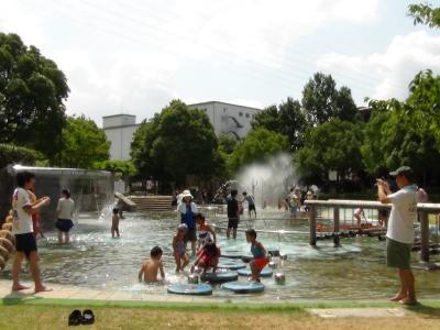 元浜緑地わんぱく池