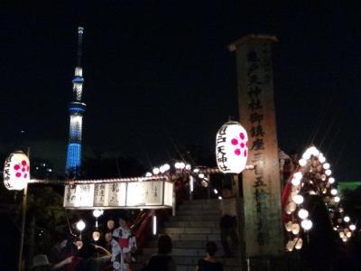 亀戸天神社 例大祭祭典