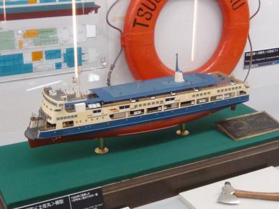 宇高連絡船模型