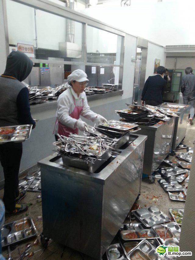 韓国の学食