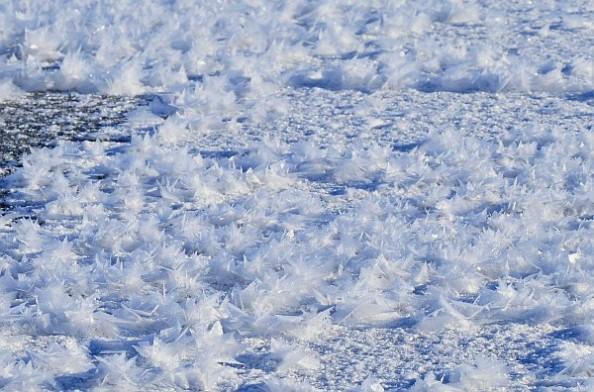 フロストフラワー阿寒湖