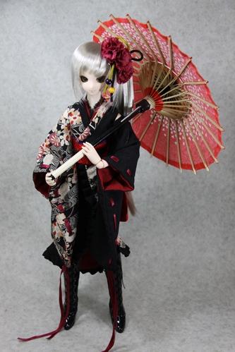 カンナと和傘