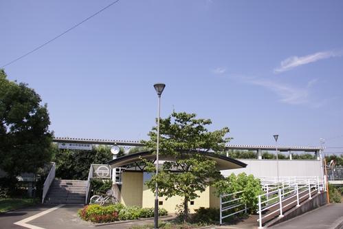 掛川市役所前駅全景