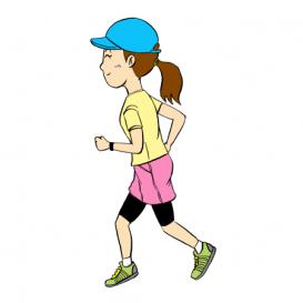 マラソン膝痛2