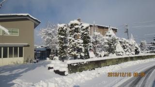 庭と作業小屋