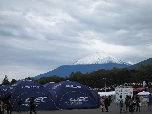 WEC富士6時間・富士山初冠雪