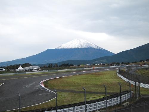 WEC富士6時間・富士山とコース