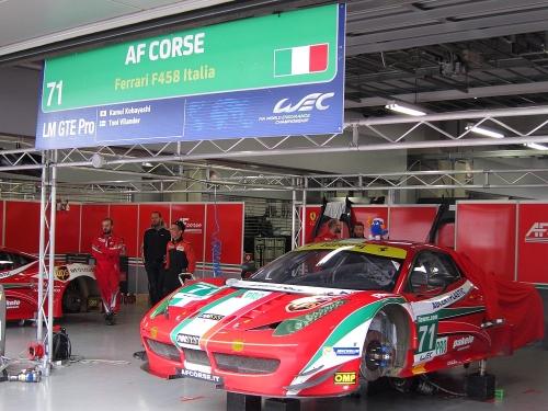 WEC富士6時間・AFコルセ フェラーリ458イタリア