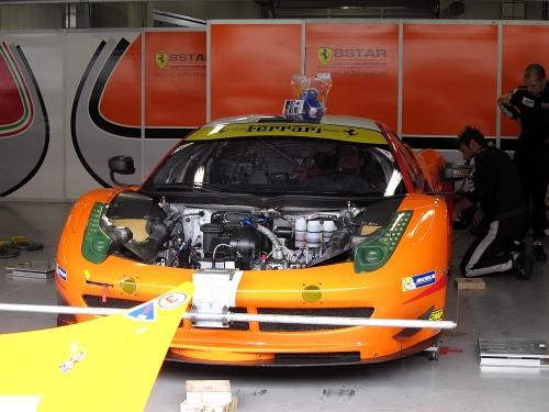 WEC富士6時間・8 スターモータースポーツ フェラーリ458イタリア