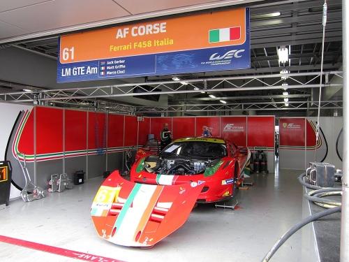 WEC富士6時間・AFコルセ フェラーリ458イタリア(LM GTE Am)