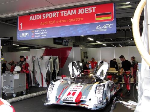 WEC富士6時間・アウディスポーツチームヨースト アウディR18e-トロンクワトロ