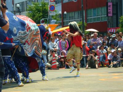H240527第17回獅子舞共演会吉田町②