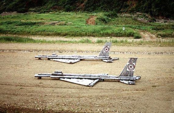 北朝鮮の偽装戦闘機