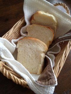 米粉湯だねの食パン