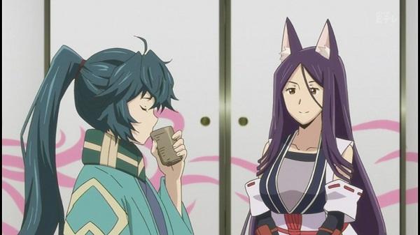 MMORPGアニメ ログ・ホライズン 2期 6話 感想 アカツキ 乙女 口伝