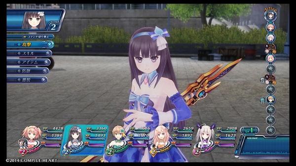 PS4 オメガクインテット omegaquintette 体験版 PSPlus 詠巫女 戦闘 イベント