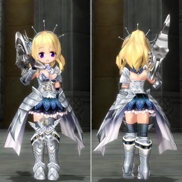 鎧甲姫のドレス一式