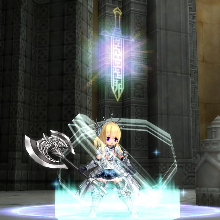 鎧甲姫のドレス