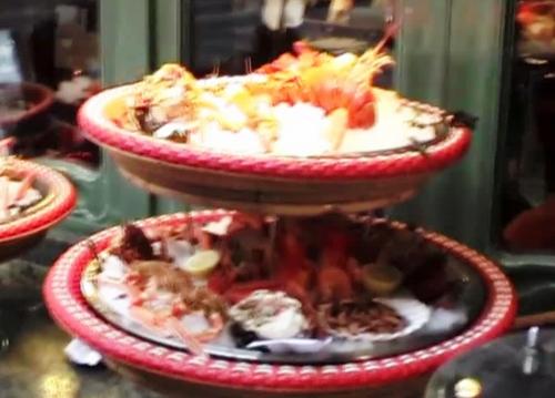 虎と小鳥のフランス日記第13話 シーフードレストラン