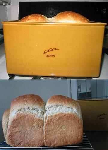 陶器のパン型とパン