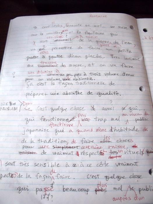 虎と小鳥のフランス日記 第78話 ディクテ-2