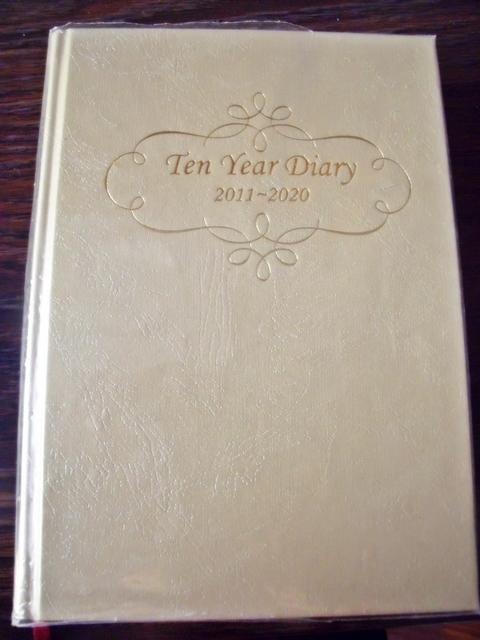 10年日記 表紙