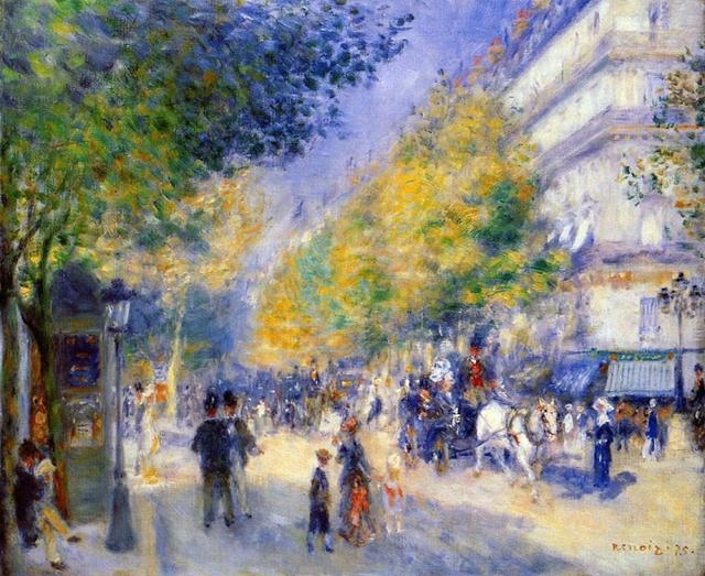 ルノアールのLes Grands Boulevards