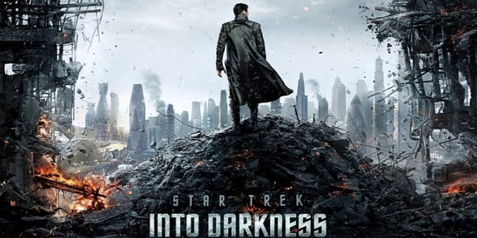 star trek into darkness ポスター