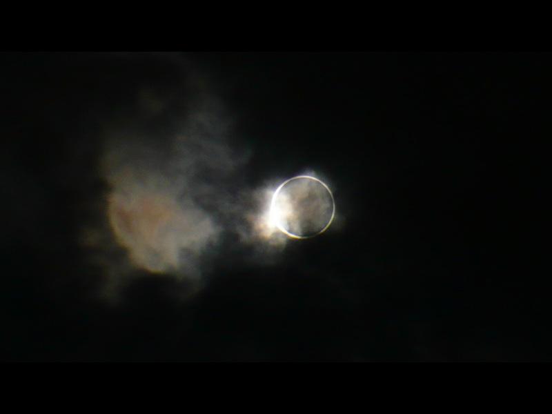 「金環日食」