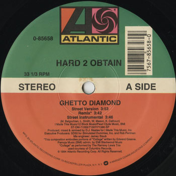 HH_HARD 2 OBTAIN_GHETTO DIAMOND_201311