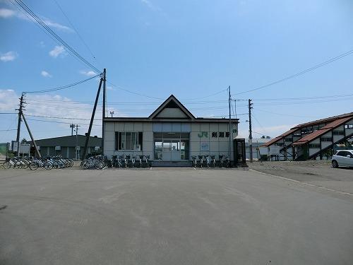昔の珊瑚礁と今 宗谷本線 剣淵駅