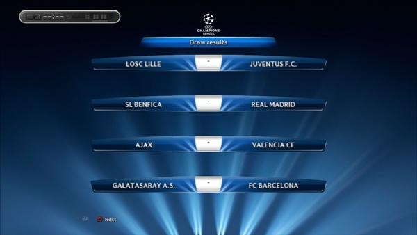 1年目UEFA CL抽選2