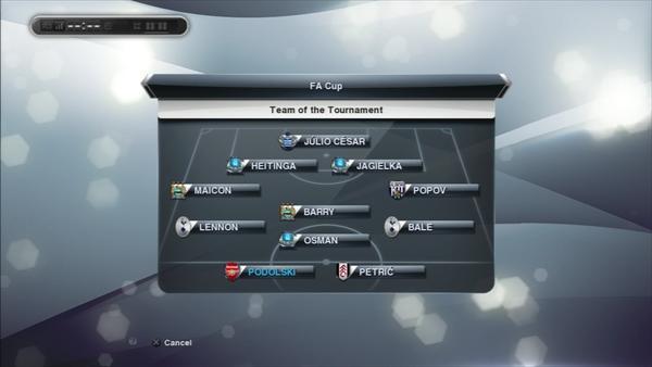 1年目FAカップチームオブトーナメント